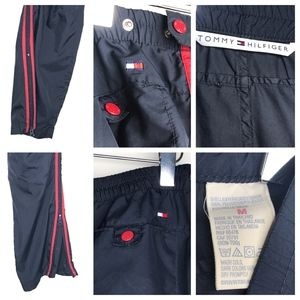 Tommy Hilfiger Pants - Tommy Hilfiger Red Blue Track Jacket Pants A160413